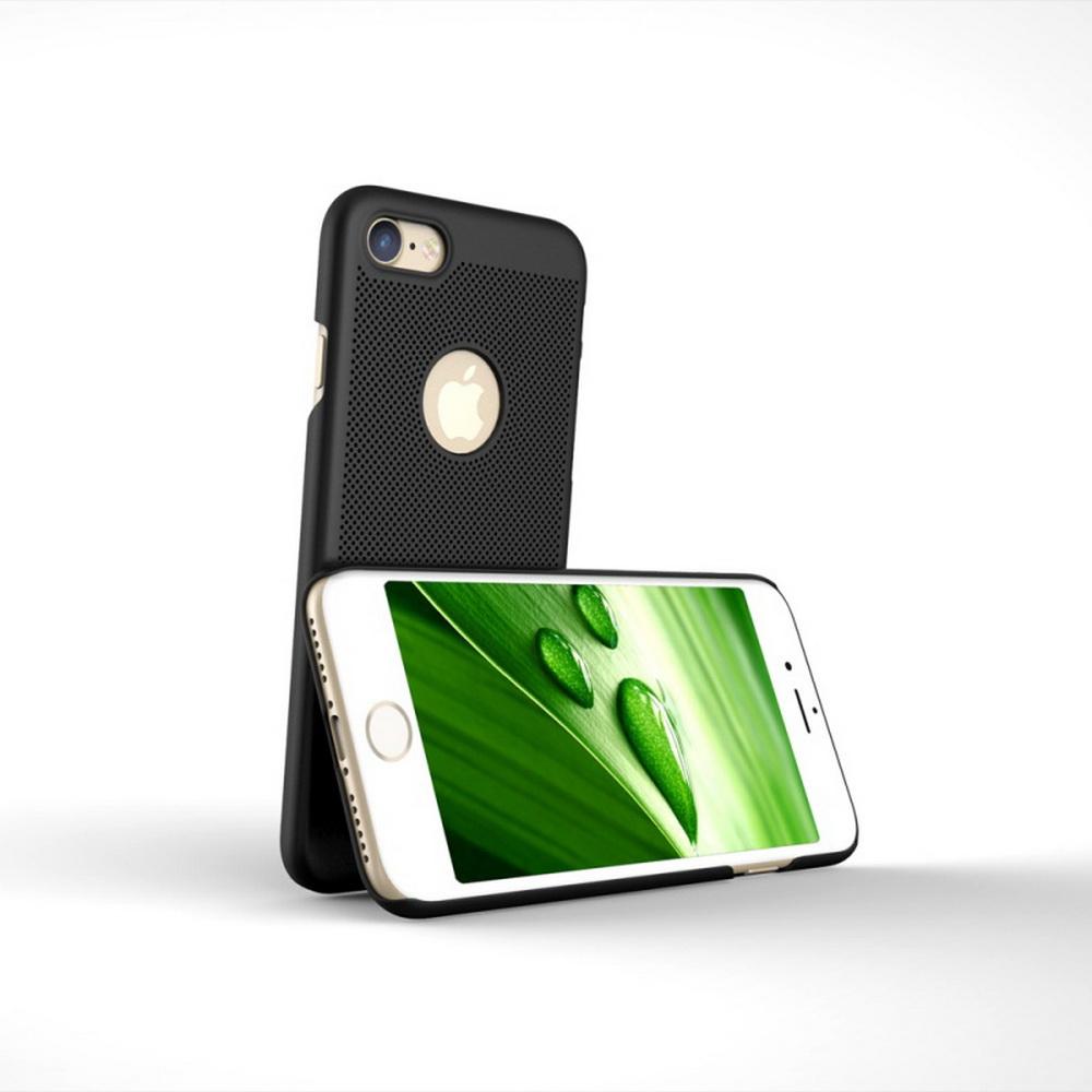 loopee slim shell case etui iphone 7 8 4 7 black. Black Bedroom Furniture Sets. Home Design Ideas