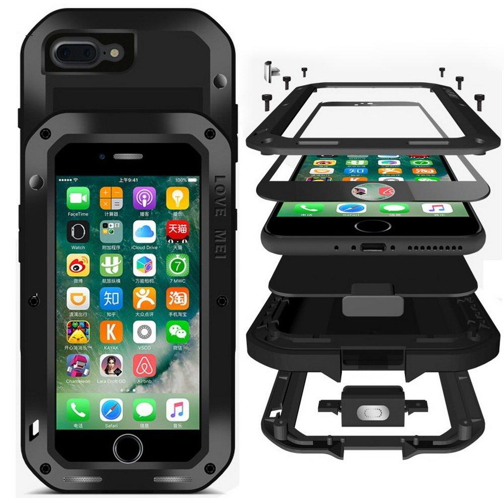 love mei powerful case pancerne etui iphone 7 8 4 7 black czarny apple iphone iphone 7. Black Bedroom Furniture Sets. Home Design Ideas