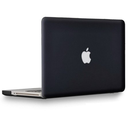 Hard Shell Case Mat Etui MacBook Pro 13 (Frosted Black)