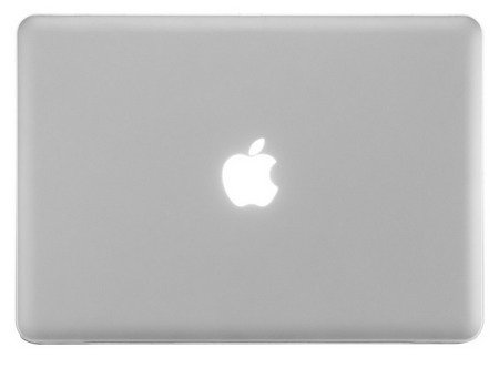 Hard Shell Case Mat Etui MacBook Pro 13 (Frosted White)