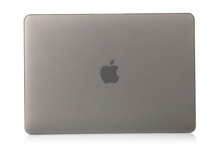 Hard Shell Case Mat Etui Macbook Pro 13 Retina (A1706 / A1708) (Frosted Grey)
