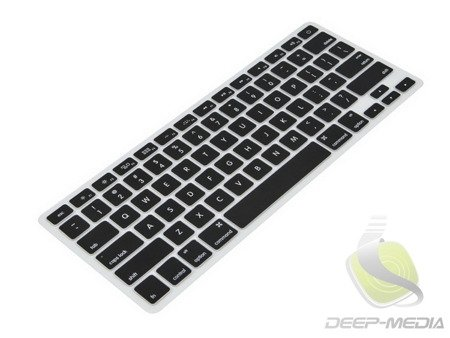 KeyGuard Osłona Na Klawiaturę MacBook Air / Pro 13 15 17 (Layout USA) (Black)