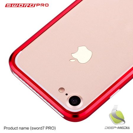 LJY Sword Pro Alu Bumper Ramka iPhone 7 (4.7) (Rose Gold)