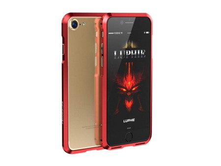 Luphie Alu Blade Bumper Ramka iPhone 7 (4.7) (Red)