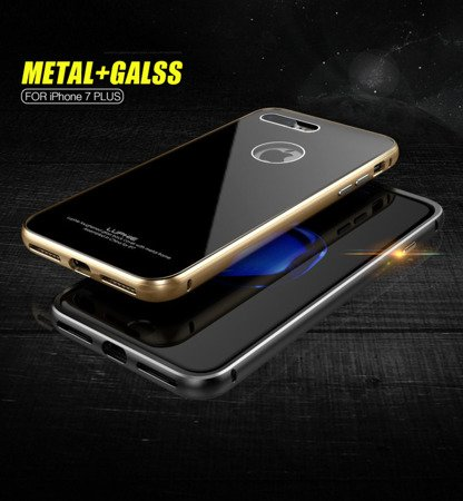 Luphie Alu + Glass Case Etui iPhone 7 Plus (5.5)