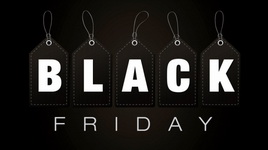 Black Friday, Black Weekend, Cyber Monday -20% -30% -40%