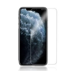 9H  HD Basic Glass Case-Fit Notch-Cover Szkło Hartowane iPhone XR/11 (Clear)