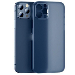 D-Pro Air Slim 0.4mm PP Case Ultra Cienkie Etui do iPhone 12 Pro Max (Frosted Blue)
