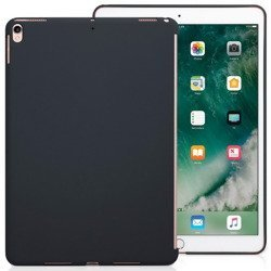 D-Pro Liquid Silicone Case SideCut Smart-Friendly Etui iPad 9.7 2017/2018 (Black)