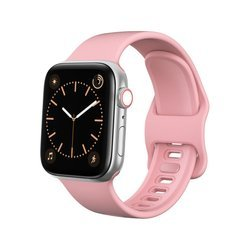 D-Pro Silicone V2 Band Pasek Apple Watch 1/2/3/4/5 38/40mm (Pink)