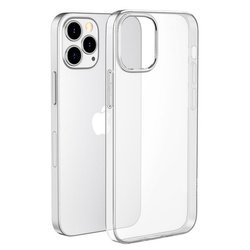 D-Pro Slim Flex TPU Case Etui Silikon do iPhone 12/12 Pro (Crystal Clear)