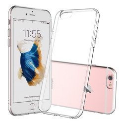 D-Pro Slim Flex TPU Silikon Obudowa Etui iPhone 6/6S (4.7) (Crystal Clear)