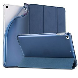 D-Pro Smart Case TPU Soft-Gel Back Cover - iPad 10.2 / Pro 10.5 / Air 3 (Navy Blue)