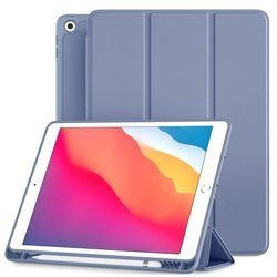 D-Pro Smart Cover V2 etui do Apple Pencil / iPad Air 1/2 9.7 2017/2018 5/6 gen. (Purple)