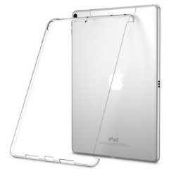 D-Pro TPU SideCut Etui Silikon Smart Keyboard Friendly iPad 9.7 2017/2018 (Clear)