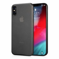 D-pro Air Slim 0.4 Cienkie Etui Obudowa iPhone XS (Matte Black)