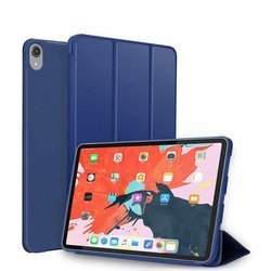 D-pro Smart Cover Tpu Solid Case Etui Do iPad 11 (Navy Blue)