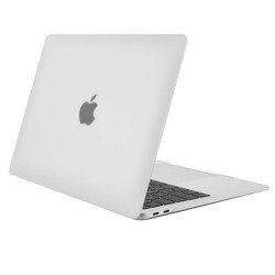 Hard Shell Case Etui Obudowa Macbook Air 13 (A2179) 2020 (Matte White)