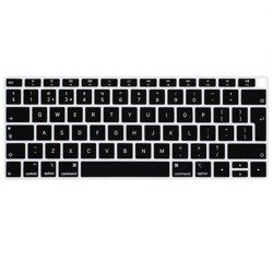 KeyGuard Osłona Na Klawiaturę MacBook Air 13 (A1932) (Layout EU) (Black)