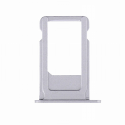 SIM Card Tray Tacka Szufladka Adapter Karty SIM - iPhone 6 (4.7) (Silver)