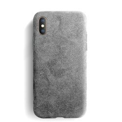 Sancore Alcantara Case Etui Obudowa iPhone X/XS (Gray)