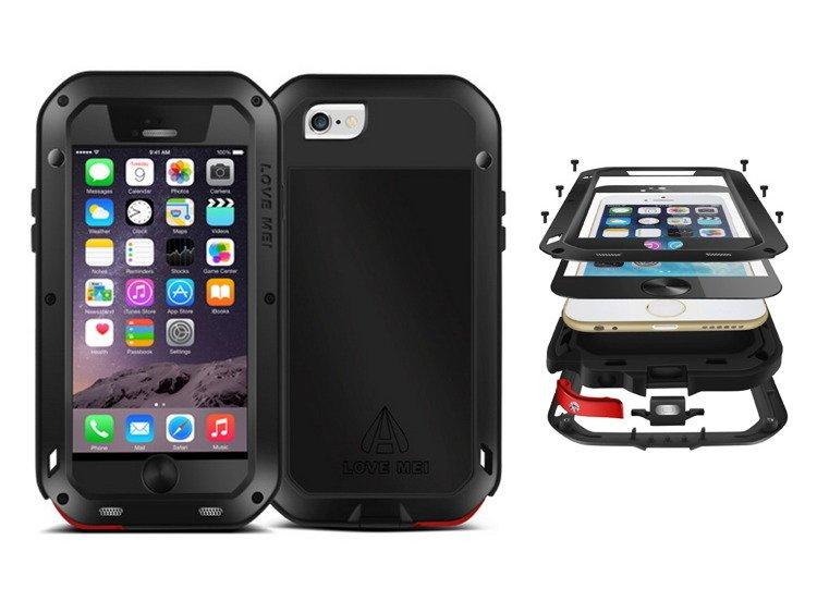 1de8198704f Love Mei Powerful Case Pancerne Etui iPhone 6/6S (4.7) Kliknij, aby  powiększyć ...