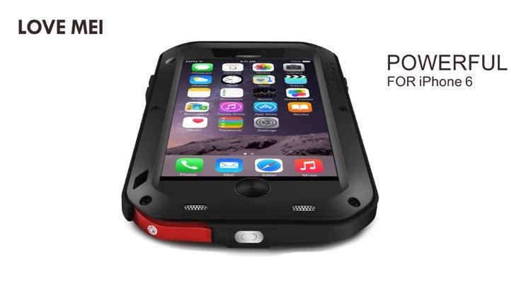 194d5ac3de4 ... Love Mei Powerful Case Pancerne Etui iPhone 6/6S (4.7) Kliknij, aby  powiększyć ...