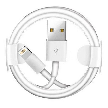 Kabel Lightning USB 100cm (HQ A+) (White)