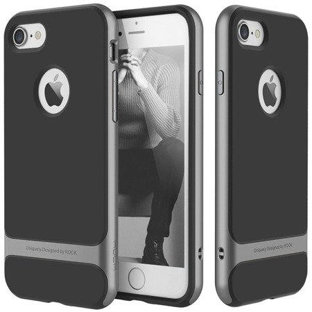 Rock Royce Case Etui Obudowa iPhone 6/6S (4.7) (Iron Gray)