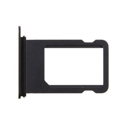 SIM Card Tray Tacka Szufladka Adapter Karty SIM - iPhone 7 Plus (5.5) (Black Matte)