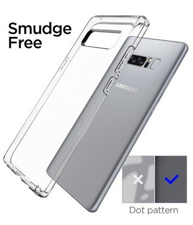 Spigen Liquid Crystal Case Etui Samsung Galaxy Note 8